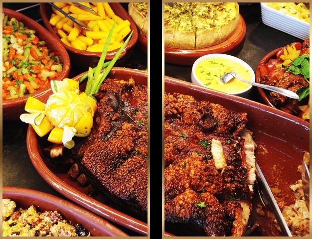 Buffet de Comida Mineira - Pernil Assado